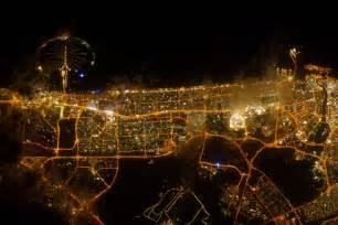 city lights of dubai united arab emirates image of the day