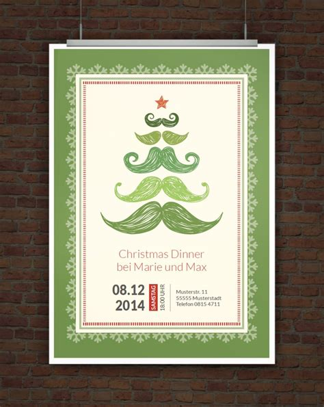 Kostenlose Vorlage Einladung Weihnachten Drucke Selbst Vorlage Originelle Weihnachtseinladung