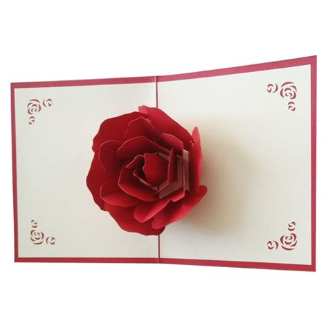 Carte Origami - large a5 handmade personalised floral shoe birthday card