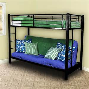 futon metal bunk bed black box 2 walmart
