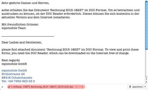 Mit Freundlichen Grüßen Best Regards Signatur Die R 252 Ckkehr Der Makro Viren Vorsicht Vor Diesen Emails