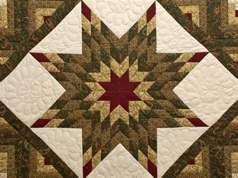 Lone Log Cabin Quilt Pattern by Lone Log Cabin Quilt Terrific Meticulously Made