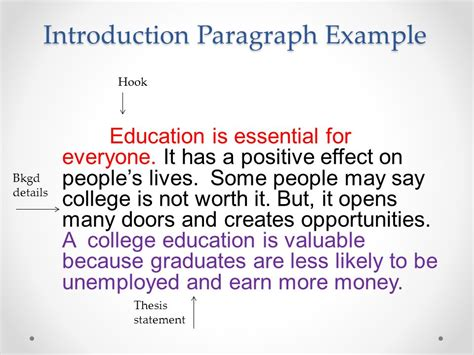 thesis title about values education value of an education essay ppt video online download