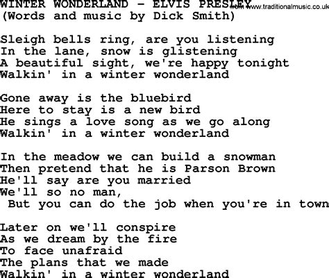 printable lyrics for walking in a winter wonderland winter wonderland lyrics this wallpapers