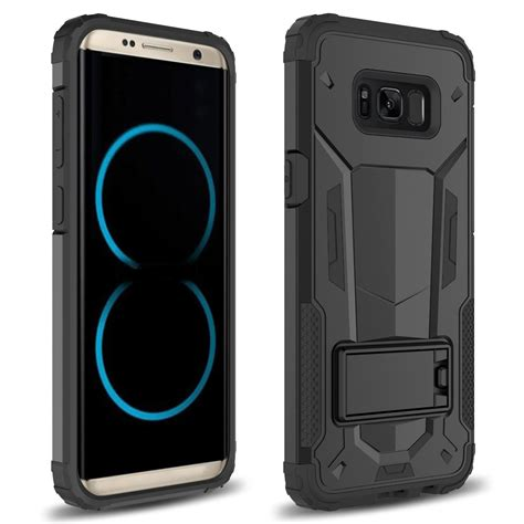 Beetle Samsung S8 S8 Plus Armor Back Casing Anti Sock for samsung galaxy s8 plus hybrid future armor cover with kickstand ebay