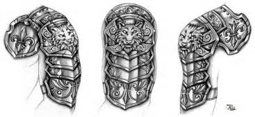 Furniture Brilliant Mind by Black Wolf Armor Tattoo Design