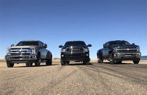 dodge vs ford vs chevy ford vs chevy vs dodge heavy duty trucks autos post
