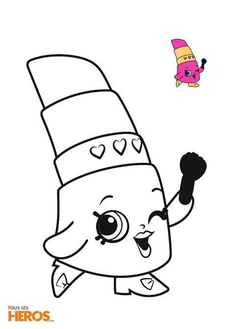 Coloriages Shopkins Coloriez Ces Adorables Personnages