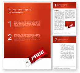 free word template free label word template 02865 poweredtemplate