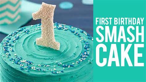 birthday smash cake youtube