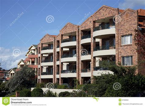 appartments in australia urban apartment building sydney australia stock image