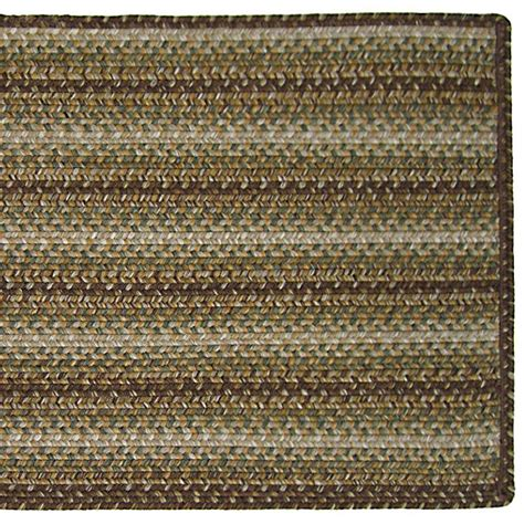 Outdoor Striped Rug Indoor Outdoor Braided Area Rugs 20x30 Striped Ebay