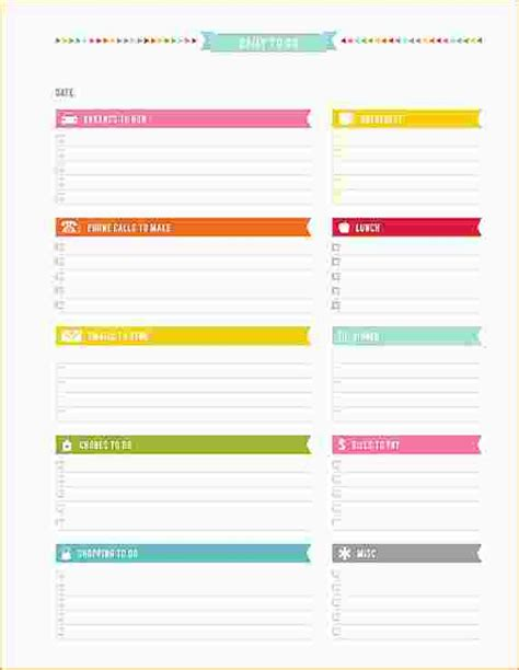 daily planner template pages daily planner pages ganttchart template