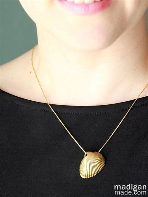 how to make shell jewelry diy sea shell necklace do it yourself