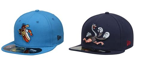 the 10 best caps in minor league baseball
