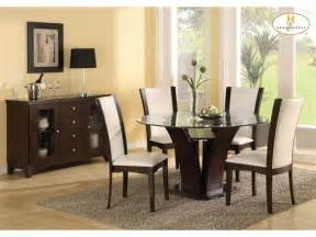 Dining Room Chairs For Glass Table Glass Furniture Table Designs