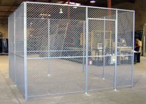wire partitions security cages  industrial products