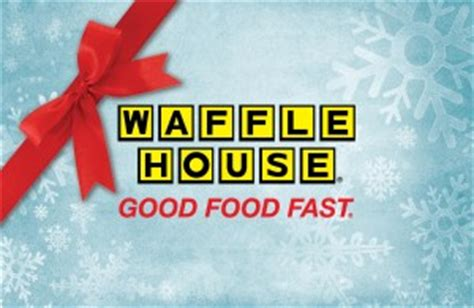 Waffle House Gift Card - gift cards waffle house