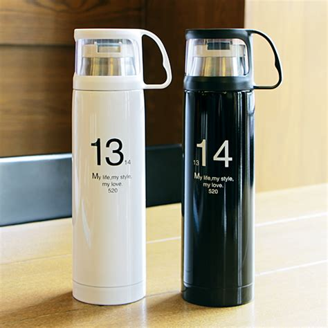 Terlaris Tumbler Starbucks Stainless Steel Termos Botol 500ml aliexpress buy stylish thermos cup 350 500ml termo bottle stainless steel 12 hours