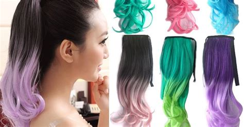 Top 4 Warna style warna rambut tips model cara cat rambut ombre