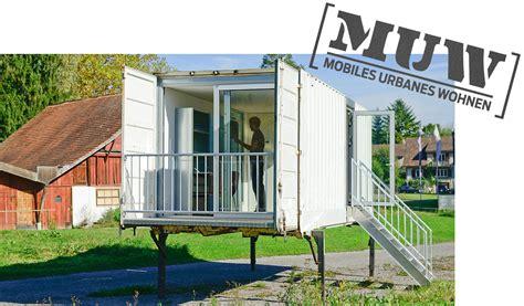 mobiles wohnen muw ag mobiles urbanes wohnen