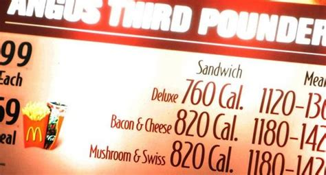 Fda Proposes Calorie Counts On Menus by Nanny State Alert 412 Fda Proposes Calorie Counts On