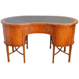 Kidney Shaped Desks Satinwood Kidney Shaped Desk Circa 1890 For Sale At 1stdibs