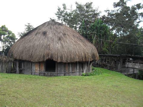10 desain rumah adat papua rumah honai lihat co id