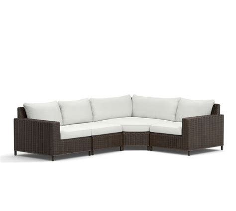 wicker sectional patio furniture sale 60 off pottery barn outdoor furniture sale save on sofas