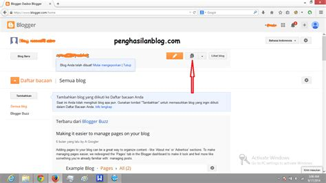cara membuat entri blog bimbingan belajar tik online smp pgri 1 cibinong dan