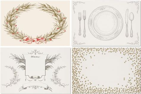 How To Make A Paper Placemat - paper placemats how clever