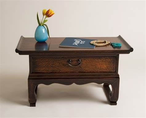 boston prayer table as a small shrine or puja practice table this