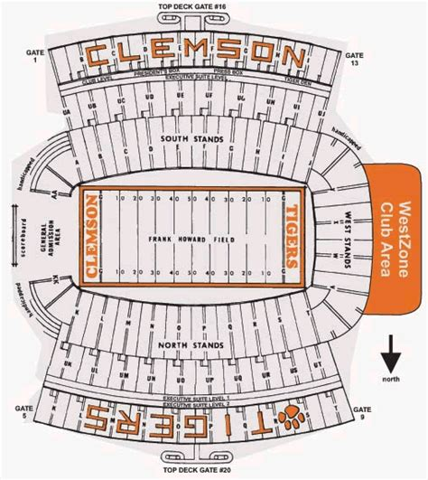 clemson seating chart valley clemson tigers 2012 football schedule