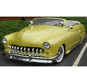 1950 Mercury Convertible  Yellow Front Angle