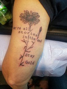 body kanvas tattoo calgary tattoo stay gold the other side pinterest stay gold