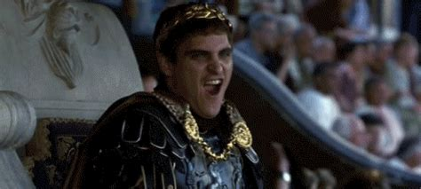 gladiator film emperor lewd joaquin phoenix gif find share on giphy