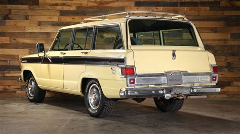 1970s jeep wagoneer for sale all american classic cars 1970 jeep wagoneer sj 4wd 4