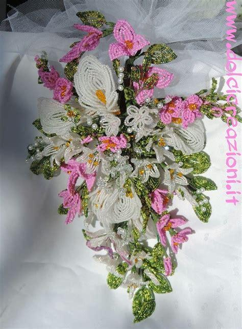 fiori di perline schemi pi 249 di 25 fantastiche idee su fiori di perline su
