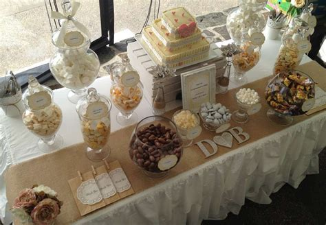Rustic Lolly Buffet Wedding Party Ideas   Lolly buffet