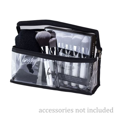 Make Up Cosmetic Pouch clear makeup bag travel cosmetic pouch by nanshy
