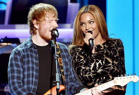 ed sheeran perfect eminem ed sheeran beyonce collaborate on quot perfect duet quot listen