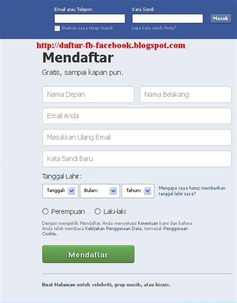 buat akun facebook yahoo daftar facebook baru cara buat fb dengan email yahoo