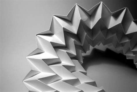 Folding Paper Design - paper folding artworks