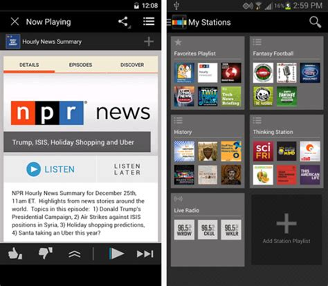 podcast apps for android best android podcast app alternatives to player fm