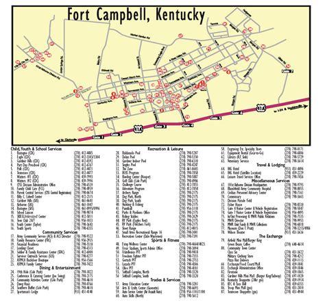 fort cbell ky map fort cbell map world map 07