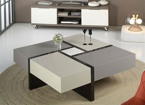 contemporary elodie coffee table with storage in various