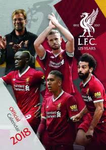 new year 2018 liverpool liverpool fc 2018 calendar official large a3 size uk wall