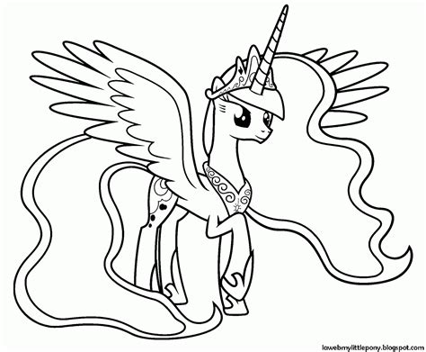 imagenes para pintar my little pony my little pony dibujos para colorear de la princesa luna