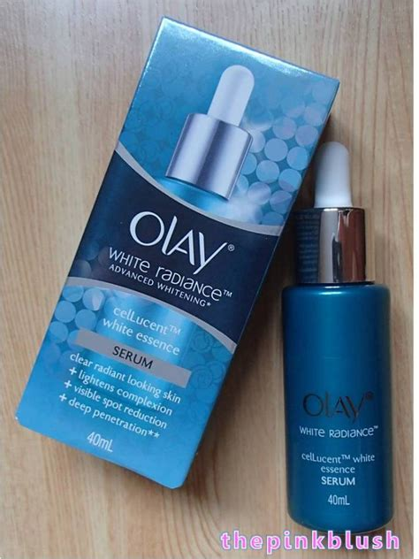 Serum Olay White Radiance Cellucent skincare reviews the pink blush page 7