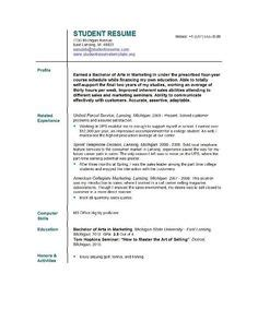 current college student resume template resume template for college students http www